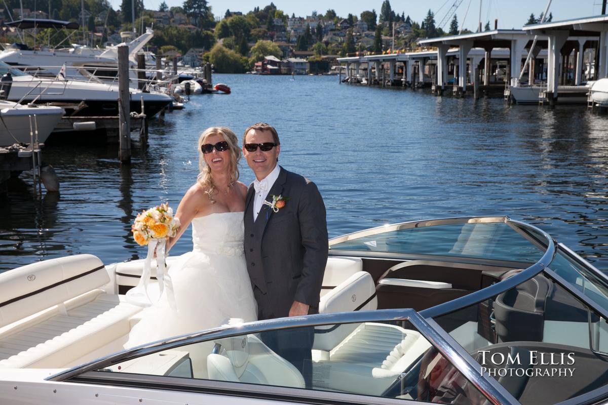 Julie & Ken - Seattle Yacht Club wedding |