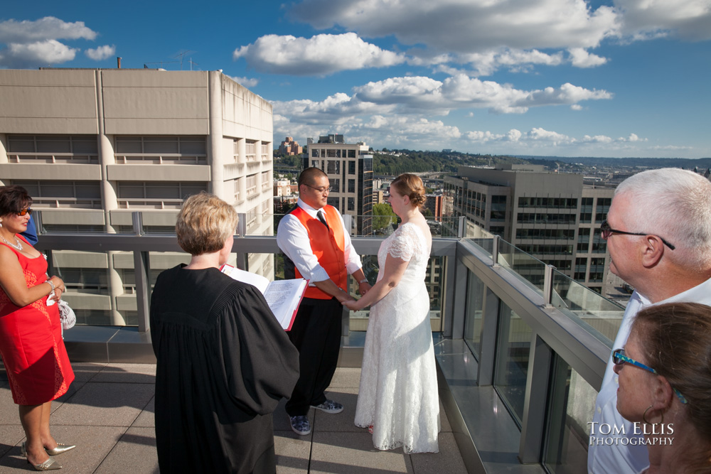Michelle James Seattle Courthouse Wedding