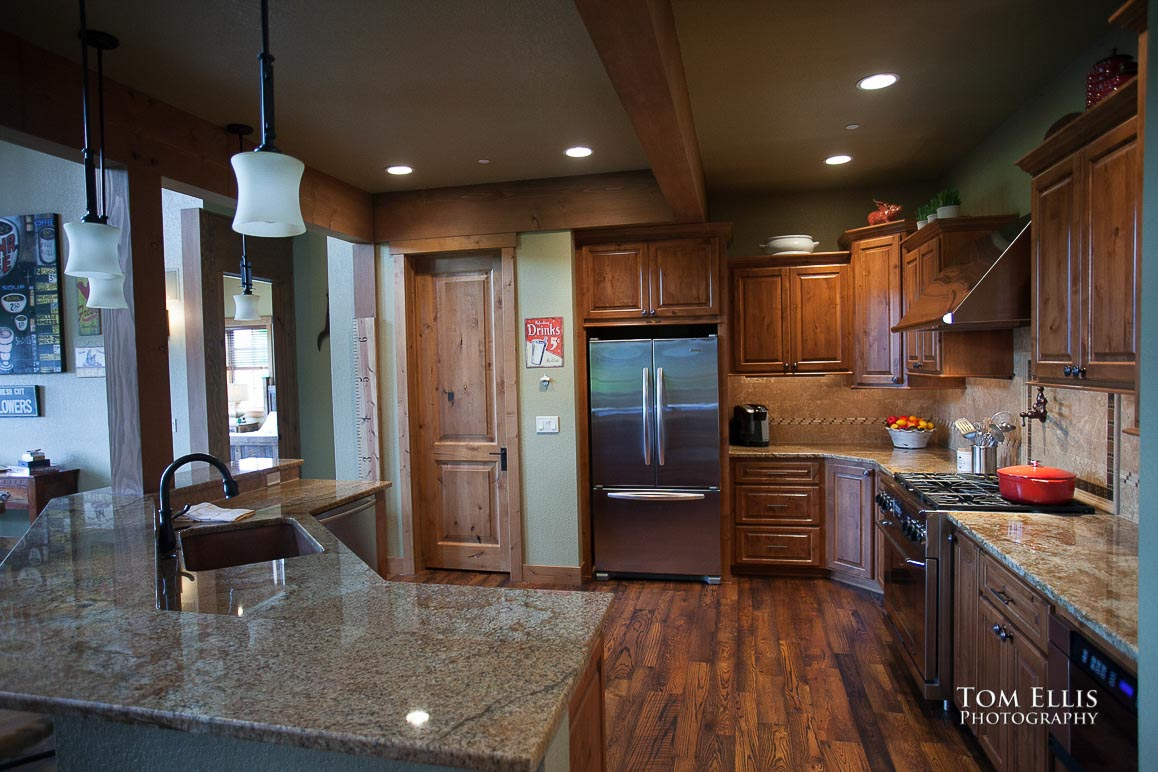 Real Estate photography, interior photo, kitchen