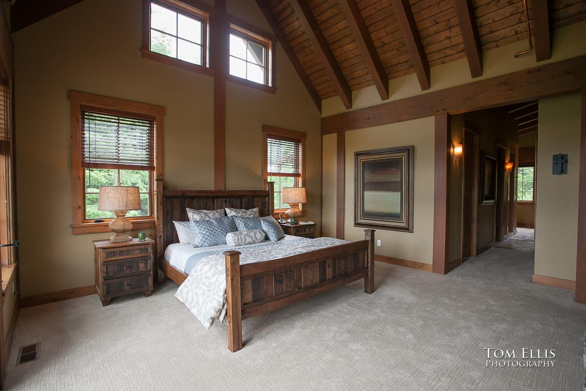 Real estate photography, master bedroom #2